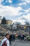 Ενοχλημένοι χρόνοι στην Ουκρανία Στοκ φωτογραφίες με δικαίωμα ελεύθερης χρήσης