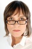 Ενοχλητική γυναίκα Στοκ φωτογραφία με δικαίωμα ελεύθερης χρήσης