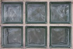 Ενσωματωμένοι φραγμοί γυαλιού Στοκ Εικόνες