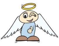 ΕΝΤΑΞΕΙ άγγελος Στοκ Εικόνες