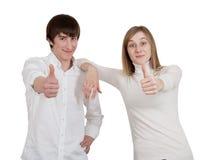 ΕΝΤΑΞΕΙ χειρονομία χεριών Στοκ φωτογραφίες με δικαίωμα ελεύθερης χρήσης