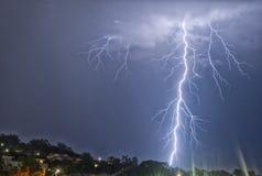 Εντυπωσιακός κεραυνός Στοκ φωτογραφίες με δικαίωμα ελεύθερης χρήσης