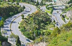 Εντυπωσιακό οδικό σύστημα Στοκ Εικόνες