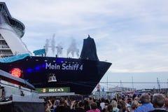 Εντυπώσεις από το βάπτισμα ενός σκάφους Στοκ φωτογραφία με δικαίωμα ελεύθερης χρήσης