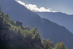 Εντυπώσεις από το ορεινό χωριό Farst στοκ εικόνα με δικαίωμα ελεύθερης χρήσης