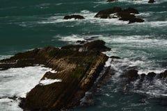 Εντυπώσεις παράλια Ειρηνικού του φωτός χώρων σημείου, Καλιφόρνια ΗΠΑ στοκ εικόνα με δικαίωμα ελεύθερης χρήσης