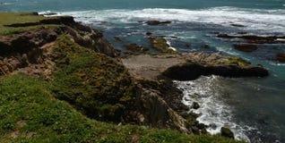 Εντυπώσεις παράλια Ειρηνικού του φωτός χώρων σημείου, Καλιφόρνια ΗΠΑ στοκ εικόνες