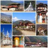 Εντυπώσεις του Μπουτάν Στοκ Εικόνες