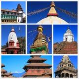 Εντυπώσεις του Νεπάλ Στοκ εικόνες με δικαίωμα ελεύθερης χρήσης