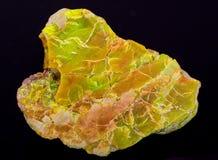 Ενυδατωμένο Variscite φωσφορικό άλας αλουμινίου από τις ΗΠΑ Στοκ Εικόνες