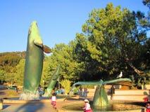 Ενυδρείο σημύδων, Σαν Ντιέγκο, Καλιφόρνια, πηγή φαλαινών Στοκ φωτογραφία με δικαίωμα ελεύθερης χρήσης