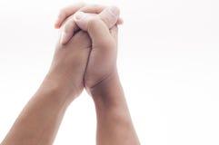 Ενωμένα χέρια Στοκ Φωτογραφίες