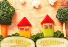 Ενωμένη ομορφιά των λαχανικών Στοκ εικόνες με δικαίωμα ελεύθερης χρήσης