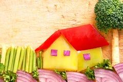 Ενωμένη ομορφιά των λαχανικών Στοκ Εικόνα