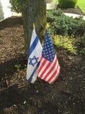 Ενωμένοι στεκόμαστε με το Ισραήλ Στοκ φωτογραφία με δικαίωμα ελεύθερης χρήσης