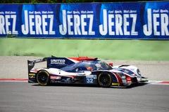 Ενωμένο αθλητικό πρωτότυπο Autosports Ligier Στοκ φωτογραφία με δικαίωμα ελεύθερης χρήσης