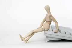 ενωμένο κούκλα πληκτρολ Στοκ φωτογραφίες με δικαίωμα ελεύθερης χρήσης