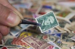 Ενωμένο κρατικό γραμματόσημο Στοκ εικόνα με δικαίωμα ελεύθερης χρήσης