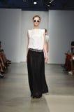 Ενωμένο μπαμπού - επίδειξη μόδας της Νέας Υόρκης Στοκ εικόνα με δικαίωμα ελεύθερης χρήσης