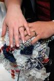 ενότητα γάμου Στοκ Εικόνες
