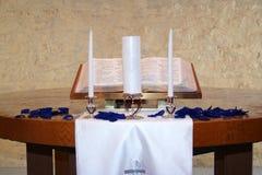 ενότητα κεριών Στοκ φωτογραφία με δικαίωμα ελεύθερης χρήσης
