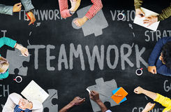 Ενότητα Concep ενότητας σύνδεσης συνεργασίας ομάδας ομαδικής εργασίας Στοκ φωτογραφία με δικαίωμα ελεύθερης χρήσης