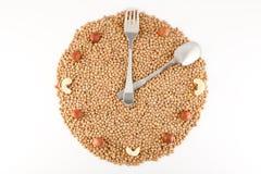 Ενώ υγιή τρόφιμα Στοκ φωτογραφία με δικαίωμα ελεύθερης χρήσης