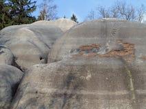 Ενδιαφέροντες βράχοι ελεφάντων σχηματισμού βράχου Στοκ φωτογραφίες με δικαίωμα ελεύθερης χρήσης