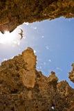 Ενδιαφέροντες σχηματισμοί βράχου Στοκ Εικόνες