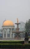 Ενδιαφέρον τετράγωνο σε Tianjin στοκ φωτογραφία