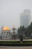 Ενδιαφέρον τετράγωνο σε Tianjin στοκ εικόνες με δικαίωμα ελεύθερης χρήσης