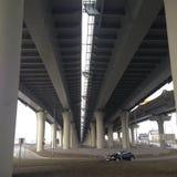 Ενδιαφέρουσα γέφυρα Στοκ φωτογραφία με δικαίωμα ελεύθερης χρήσης