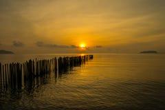 Εν πλω phuket Ταϊλάνδη πρωινού Στοκ φωτογραφίες με δικαίωμα ελεύθερης χρήσης