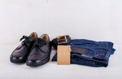 Ενδυμασία και παπούτσια ατόμων Στοκ Εικόνες