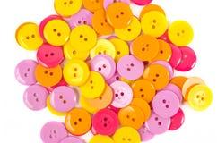 ενδυμασία κουμπιών που &alpha Στοκ Φωτογραφία