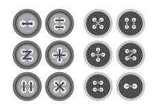 Ενδυμασία κουμπιών Στοκ εικόνα με δικαίωμα ελεύθερης χρήσης