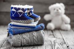 Ενδύματα μωρών Στοκ Εικόνες