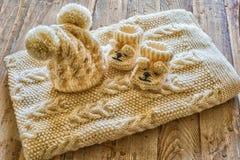 Ενδύματα μωρών Στοκ Φωτογραφίες