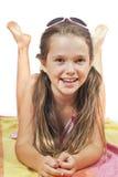 εξάρτηση κοριτσιών summery Στοκ φωτογραφία με δικαίωμα ελεύθερης χρήσης