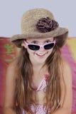 εξάρτηση κοριτσιών summery Στοκ Εικόνες