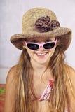 εξάρτηση κοριτσιών summery Στοκ εικόνα με δικαίωμα ελεύθερης χρήσης