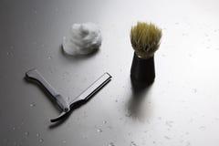Εξάρτηση ξυρίσματος ελεύθερη για το άτομο στοκ φωτογραφία με δικαίωμα ελεύθερης χρήσης
