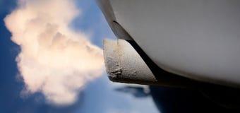 εξάτμιση αυτοκινήτων Στοκ φωτογραφίες με δικαίωμα ελεύθερης χρήσης