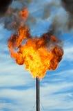 εξάτμιση που καίγεται το χιόνι αερίου Στοκ εικόνα με δικαίωμα ελεύθερης χρήσης