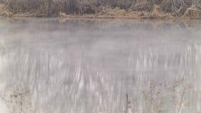 Εξάτμιση του απόβλητου ύδατος στη λίμνη φιλμ μικρού μήκους