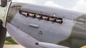 Εξάτμιση Spitfire Στοκ Φωτογραφία