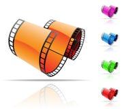 εξέλικτρο ταινιών απεικόνιση αποθεμάτων