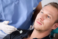 εξέταση οδοντική Στοκ φωτογραφίες με δικαίωμα ελεύθερης χρήσης