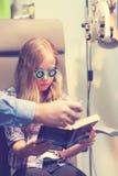 Εξέταση οφθαλμών στοκ φωτογραφία με δικαίωμα ελεύθερης χρήσης