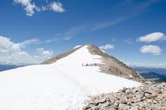 Εξέταση την κορυφή Στοκ φωτογραφίες με δικαίωμα ελεύθερης χρήσης